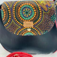 Crossbody Aboriginal Winter Spirits