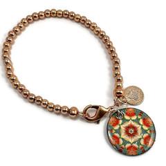 Bracelet with enamel charm #4