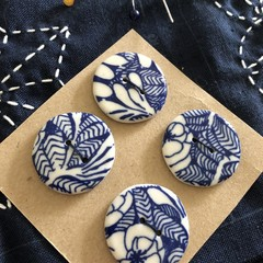 Buttons pottery