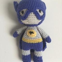 Bat Boy -  crocheted softies