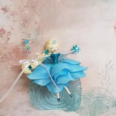 Elsa Flower Doll