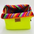 Basket Bag/ Makeup Organizer Bag