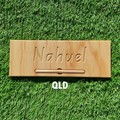 Personalised Handcrafted Name Tracing Board/Writing Board