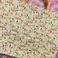 Peaches & cream market bag
