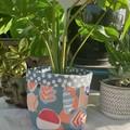 Abstract Flames by Ellie Whittaker BrightPot / Fabric Planter/Basket Medium