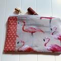Fabulous flamingos purse