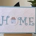 New Home Handmade Card / moving House