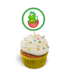 Dinosaurs Cupcake Toppers