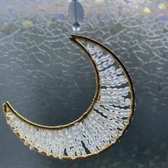 White Moon Suncatcher