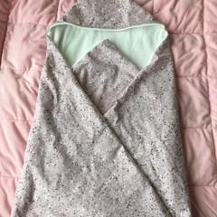 Pink Terrazzo Hooded Towel