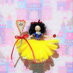 Snow White Flower Doll