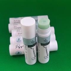 Lip Balm - Peppermint - All Organic - Natural - No preservatives - Essential Oil