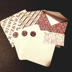 3 Bespoke Gift Cards with Envelopes and Seals