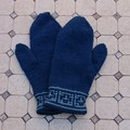 Mittens adult 2 blue shades