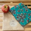 Waxed fabric food wraps - matching sets