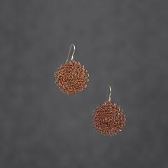 Small Copper Wire Earrings
