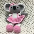 Koala: FREE POSTAGE, Ready to Post, Crochet Toy,  Girl Gift