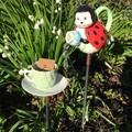 Ladybird garden teaset