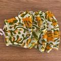 Handmade Masks triple layer fitted - Batik range