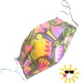 REVERSIBLE Face Mask - 100% cotton - AUSSIE BEAUTY by Sunshine Face Masks
