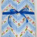 Nanna Knitted Baby Blanket - FREE POSTAGE