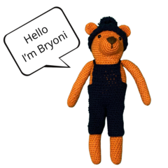 Bryoni Bear - from the Red George cuddle crew
