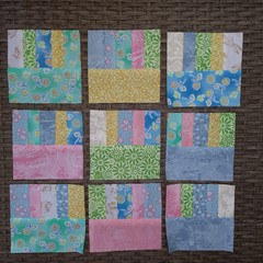Ready made Fabric squares