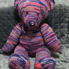 The Bunker Bear. purple varigated
