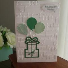 MALE OR FEMALE BIRTHDAY CARD  (FREE POSTAGE)