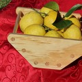 Fruit Bowl in Gloss Wax Finish