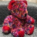 The Bunker Bear. Fluffy varigated