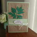 MALE BIRTHDAY CARD  (POSTAGE INCLUDED)