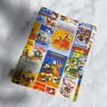 Padded book sleeve, book pouch, booksleeve