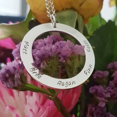 Personalised Name Jewellery -Family, Occasions, Motivational, Celebration, Love