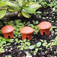 Fairy Garden Huts , garden ornaments, terrarium