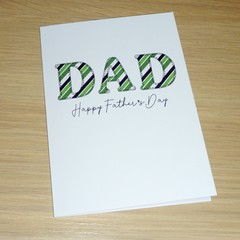 Fathers Day card - DAD