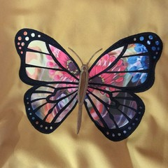 Butterfly, sports, dance or  shopping bag or library bag