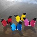 Fairy Garden Butterflies, Set of 4 ,Fairy garden ornaments