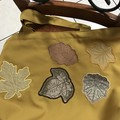 Autumn leaves, sports, dance or  shopping bag or library bag