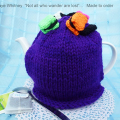 """""""KAYE'S FUNKY TEAPOT COSY COLLECTION!"""" - """"LIQUORICE ALLSORTS!"""""""
