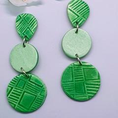Gorgeous Green Statement Earrings