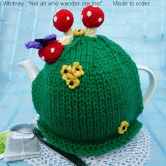 """""""KAYE'S FUNKY TEAPOT COSY COLLECTION!"""" - """"MUSHROOMS!"""""""