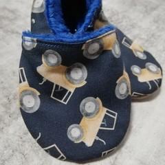 Tractors soft soled shoe