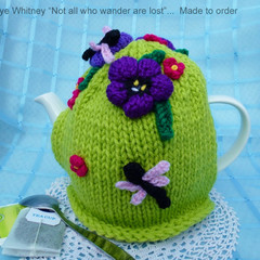 """""""KAYE'S FUNKY TEAPOT COSY COLLECTION!"""" - """"DELICATE DRAGONFLIES!"""""""