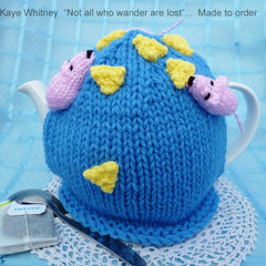 """""""KAYE'S FUNKY TEAPOT COSY COLLECTION!"""" -  """"WHERE'S THE CHEESE!"""""""