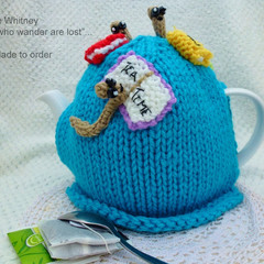 """""""KAYE'S FUNKY TEAPOT COSY COLLECTION!"""" - """"BOOKWORMS!"""""""
