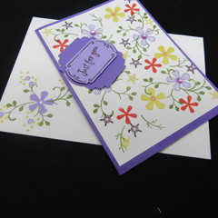 Handmade Greeting Card - Just For You