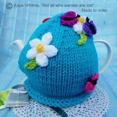 """""""KAYE'S FUNKY TEAPOT COSY COLLECTION!"""" - """"BEAUTIFUL BUTTERFLIES!"""""""