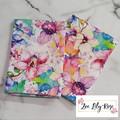 Watercolour Flower Tea Towel