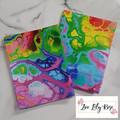 Rainbow Ink Tea Towel
